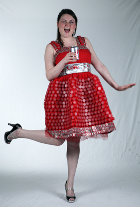 Melina Montague (Coke Dress)